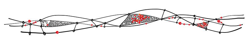Filet fer perles